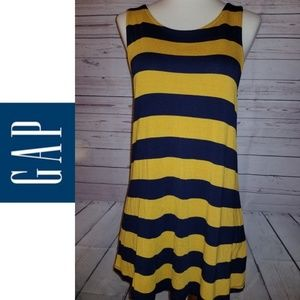 GAP Luxe Striped Tank Top | Size Small